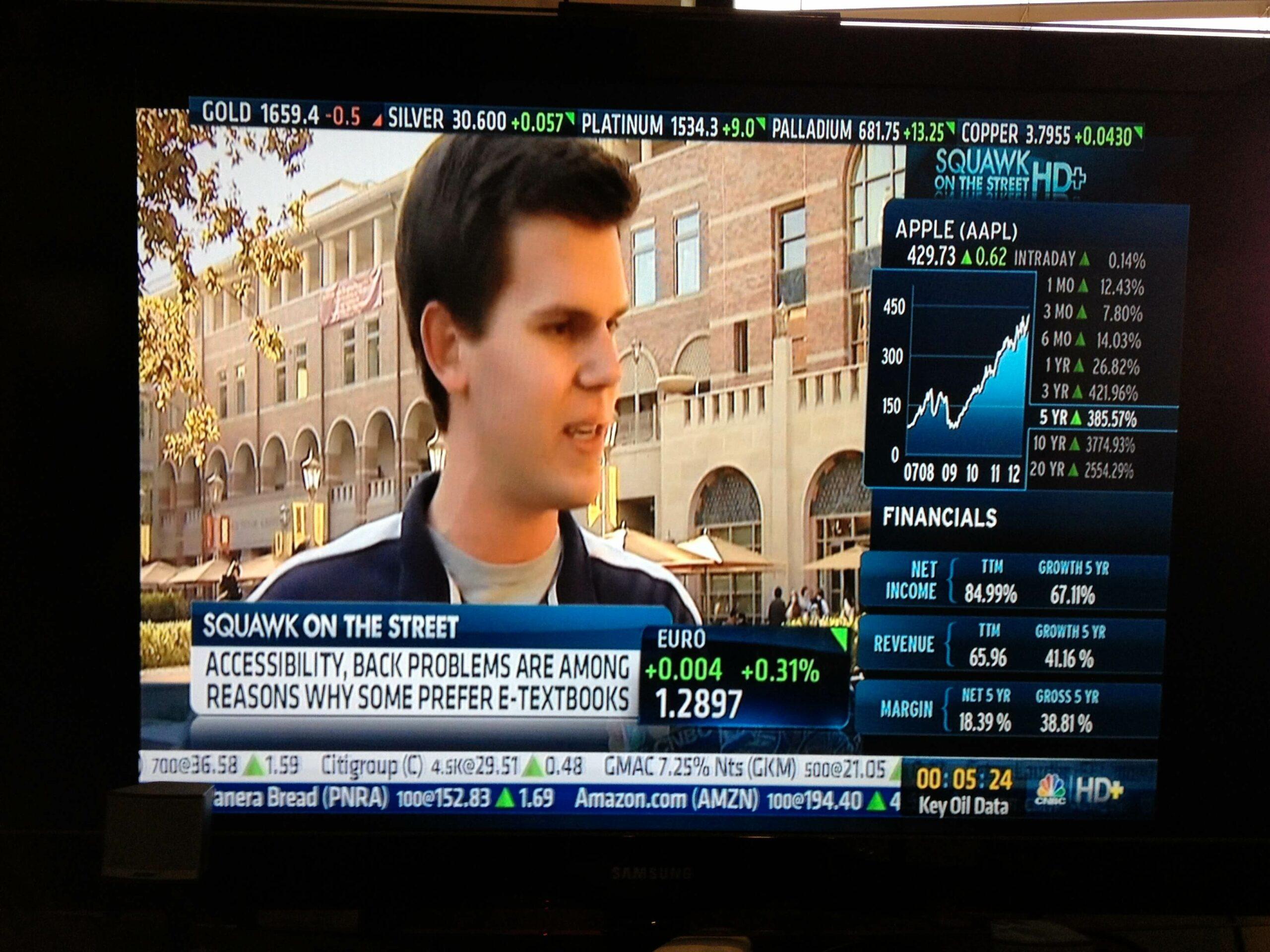 Hayden Wheatley CNBC News Media Interview